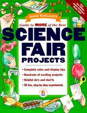 Cover of: Janice VanCleave's guide to more of the best science fair projects