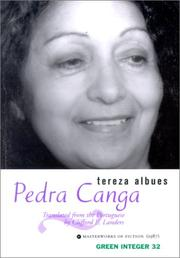 Cover of: Pedra Canga (Green Integer: 76)
