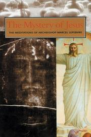 Cover of: The Mystery of Our Lord Jesus Christ
