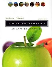 Cover of: Finite mathematics: an applied approach