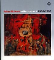 Cover of: Allen M. Hart in Retrospect, 1965-1999 | Allen M Hart