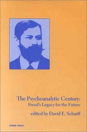 Cover of: The Psychoanalytic Century