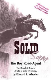 Cover of: Solid Sam, The Boy Road-Agent