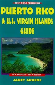Cover of: Puerto Rico and U.S. Virgin Islands Guide