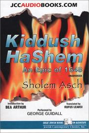 Cover of: Kiddush Ha-Shem: An Epic of 1648