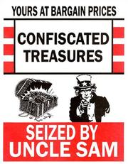 Cover of: Confiscated Treasures Seized by Uncle Sam | Barbara Becker