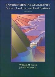 Cover of: Environmental Geography | William M. Marsh