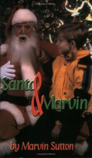 Cover of: Santa & Marvin | Marvin Sutton