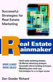 Cover of: Real Estate Rainmaker