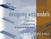 Cover of: Designing with models