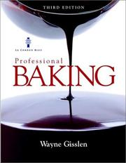 Professional Baking by Wayne Gisslen