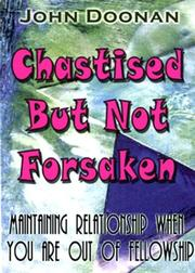 Cover of: Chastised But Not Forsaken