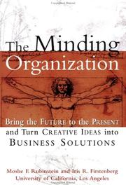 Cover of: The minding organization by Moshe F. Rubinstein