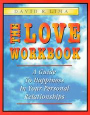 Cover of: The Love Workbook | David R. Lima