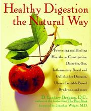 Cover of: Healthy digestion the natural way