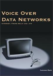 Cover of: Voice Over Data Networks Made Simple | Lawrence Harte