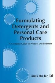 Cover of: Formulating Detergents and Personal Care Products | Louis Tan Tai Ho