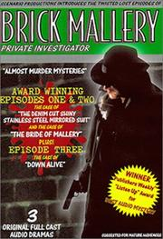 Cover of: Brick Mallery, Private Investigator. Triple Boxed Set Containing Episodes 1, 2 & 3 | Mark Bornstein