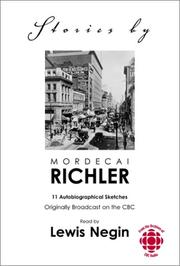 Cover of: Stories by Mordecai Richler