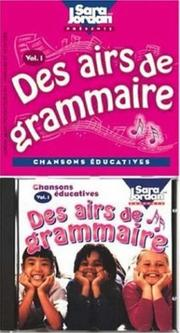 Cover of: Des airs de grammaire CD/book version (Songs That Teach French Series)