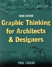 Cover of: Graphic Thinking for Architects and Designers | Paul Laseau