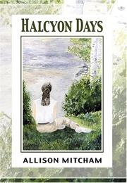 Cover of: Halcyon Days | Allison Mitcham