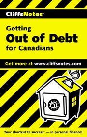 CliffsNotes(tm)Getting Out of Debt For Canadians by Sara Curtis, Cynthia Clampitt
