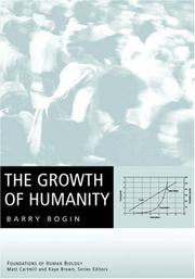 Cover of: The Growth of Humanity