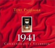 Cover of: Time Passages 1941 Yearbook | Stewart House