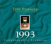 Cover of: Time Passages 1993 Yearbook | Champlain Graphics