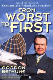 Cover of: From worst to first