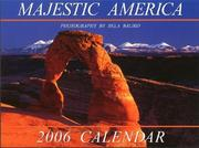 Cover of: Majestic America 2006 Calendar