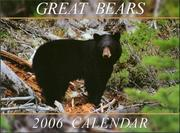 Cover of: Great Bears