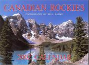 Cover of: Canadian Rockies (Moraine Lake) 2002 Coil Calendar