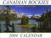Cover of: Canadian Rockies (Spirit Island) 2004 Calendar