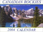 Cover of: Canadian Rockies (Moraine Lake) 2004 Calendar