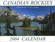 Cover of: Canadian Rockies (Spirit Island) 2004 Mini Calendar