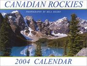 Cover of: Canadian Rockies (Moraine Lake) 2004 Mini Calendar