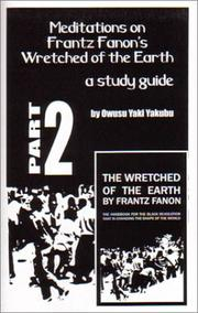 Cover of: Meditations on Frantz Fanon