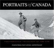 Cover of: Portraits of Canada | Jonathan Hanna