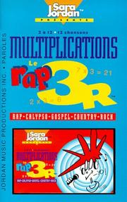 Cover of: Le Rap 3R/Multiplication/ /Book and Cassette (Advanced Level)