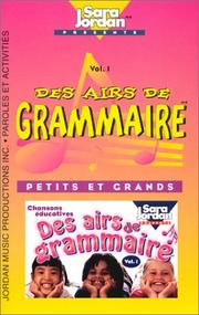 Cover of: Des Airs De Grammaire | Mariana Toader