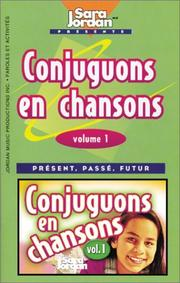 Cover of: Conjuguons en chansons