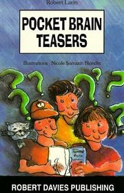 Cover of: Pocket Brain Teasers