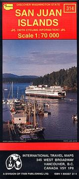 Cover of: San Juan Islands Map