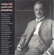 Cover of: Twenty Two Provocative Canadians |
