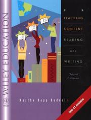 Cover of: Teaching Content Reading and Writing