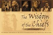 Cover of: Wisdom of the Chiefs, Volume One