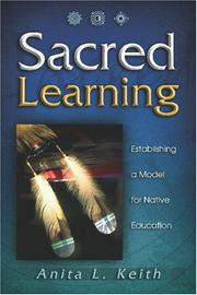 Cover of: Sacred Learning