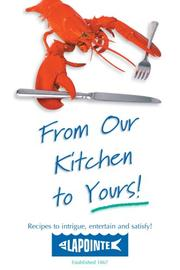 Cover of: From Our Kitchen to Yours